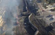 Bulgaria. Deraglia treno che trasporta gas. 5 morti e 20 feriti