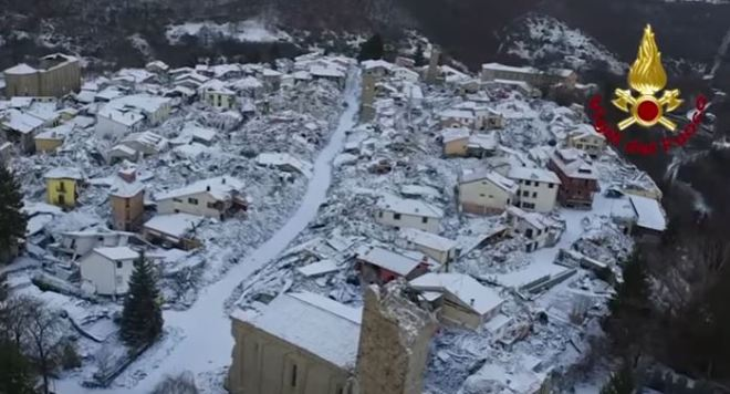 amatrice terremptp neve 2