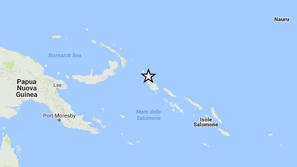 Micidiale terremoto in Papua Nuova Guinea: 8.0. Timore tsunami