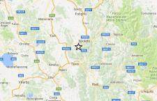 Due scosse di terremoto in Umbria, vicino Spoleto. 4,2 la più forte. 3.8 a Trento