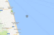 Terremoto sulle coste delle Marche