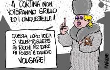 A Roma c'é Marione con la sua satira