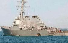Singapore: lanciamissili Usa si scontra con petroliera. 10 marinai scomparsi