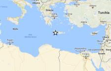 Forte terremoto a Creta. 5.2