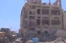Albergo distrutto il 15 ottobre scorso