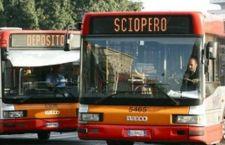 Sciopero: venerdì nero per trasporto pubblico