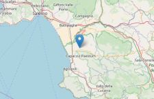 Paura a Salerno per terremoto