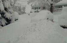 Usa: nevicate record seppelliscono le case in Pennsylvania