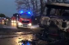Due i morti di Rieti per l'esplosione di un'autocisterna. 18 i feriti