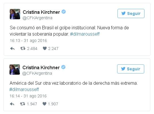 cristina tweets