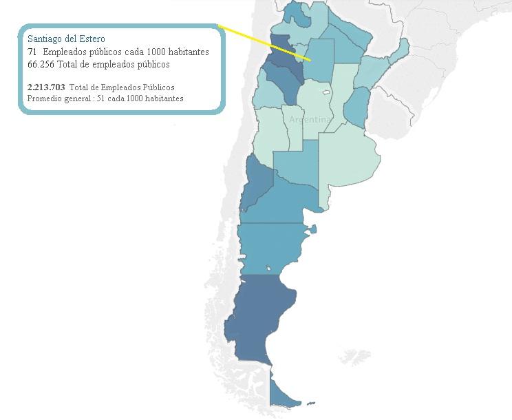 Santiago empleados publicos