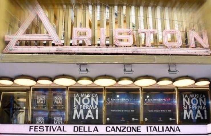 Sanremo 2022 il teatro Ariston