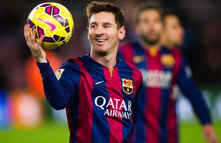 lionel messi pallone