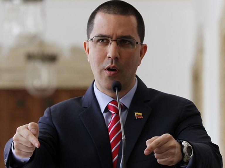 Arreaza condenó la incorporación de Bolivia al Grupo de Lima