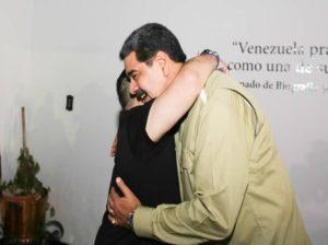 Maduro recibió a Diego Armando Maradona en Miraflores