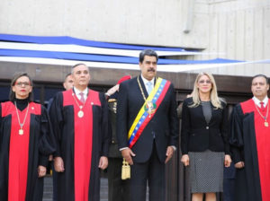Presidente Maduro participa en sesión de apertura del año judicial