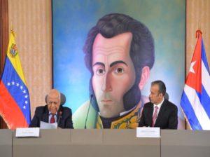 Venezuela y Cuba consolidan proyectos estratégicos