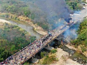 Maduro enalteció la unión Cívico Militar en la Batalla de los puentes