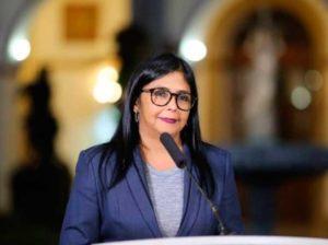 Delcy Rodríguez: Venezuela y Rusia expandirán cooperación a pesar de EEUU