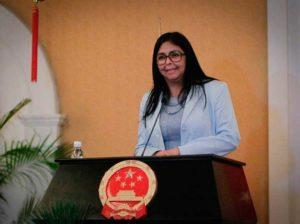 Delcy Rodríguez ve impostergable reforma del Poder Judicial