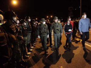 Maduro felicitó a cuerpos de seguridad por despliegue preventivo