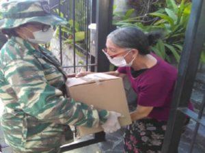Milicia garantiza que comunidades tengan acceso a la alimentación