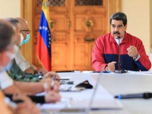 Maduro ratificó defensa de la paz ante planes conspirativos
