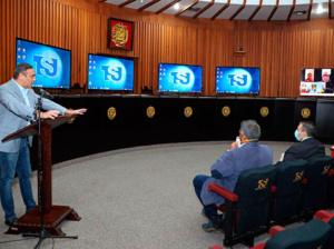 TSJ supervisa labor de tribunales durante pandemia