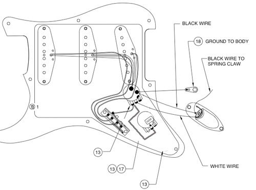 fender srv strat wiring diagram guitar