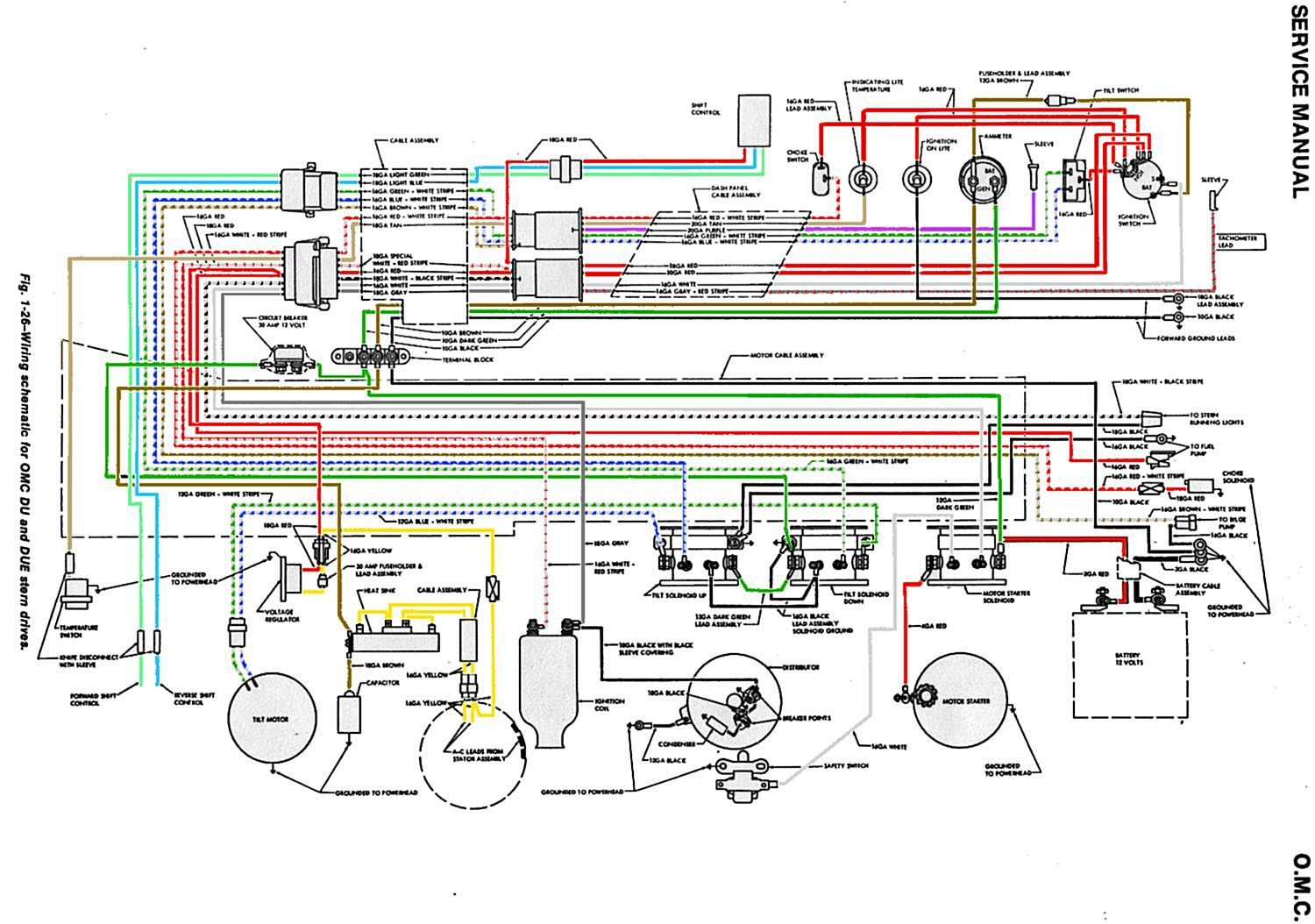 65 68_OMC_Wiring_Schematic?resize=665%2C467 trailer wiring diagram for 4 way, 5 way, 6 way and 7 way circuits triton boat trailer wiring diagram at beritabola.co