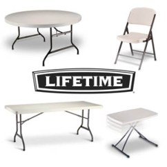 Lifetime Chairs And Tables Desk Chair Covers Tents
