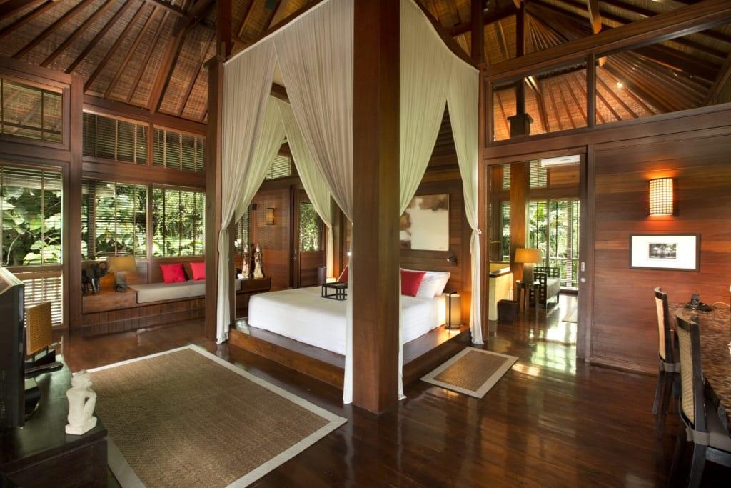 Villa The Sanctuary Bali Master Bedroom Interior