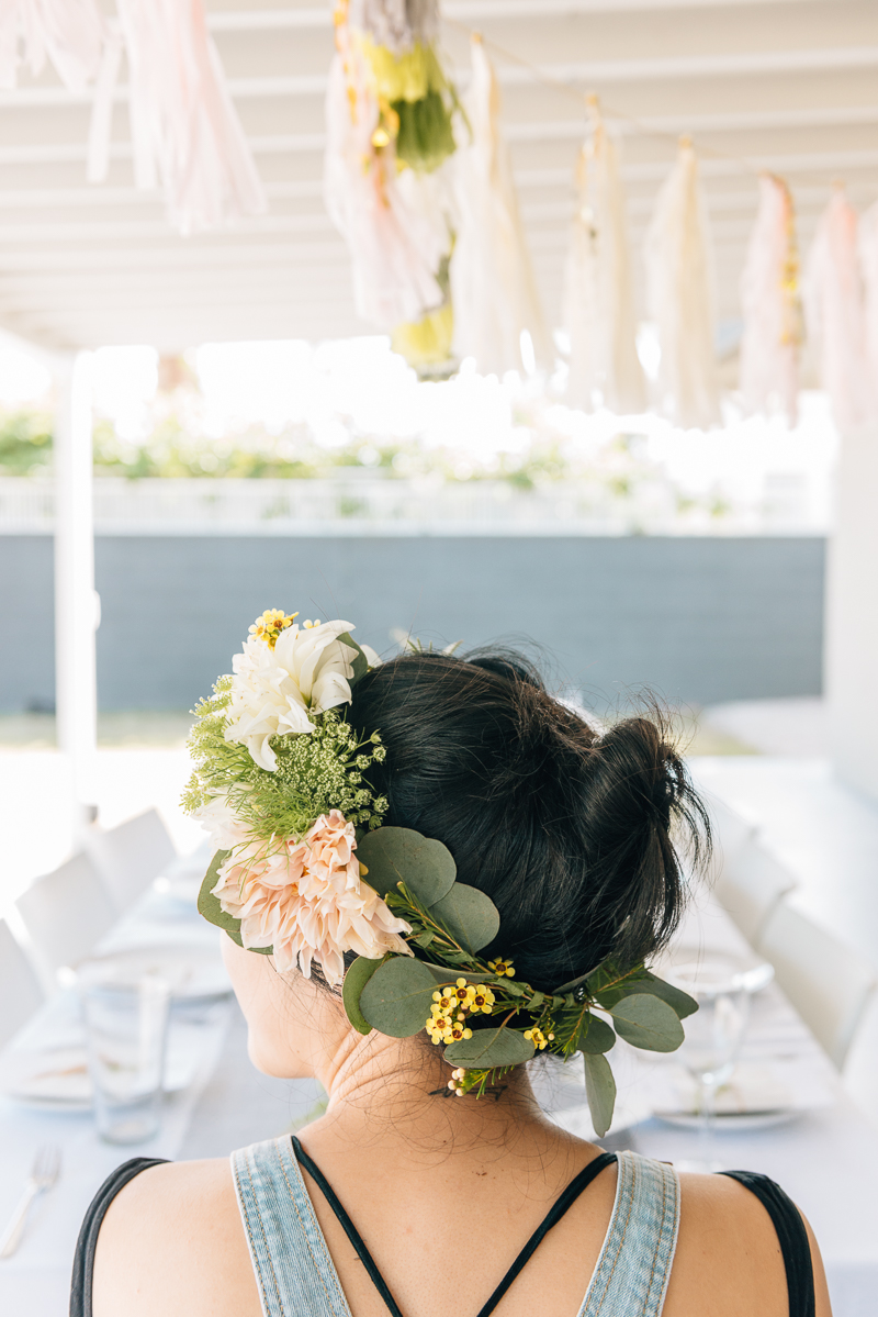 A Modern Whimsy Poolside Bridal Shower  Ultimate Bridesmaid