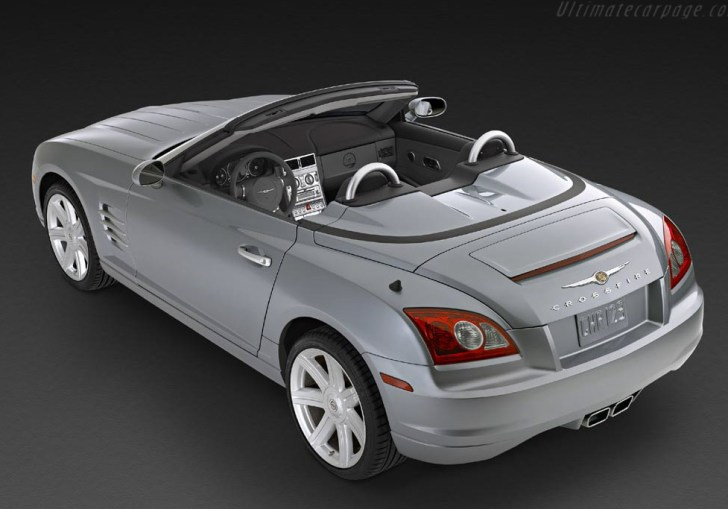 Chrysler Crossfire Roadster Photos