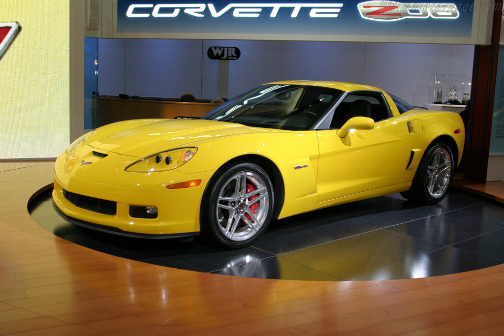 2005 2013 Chevrolet Corvette C6 Z06 Images Specifications And