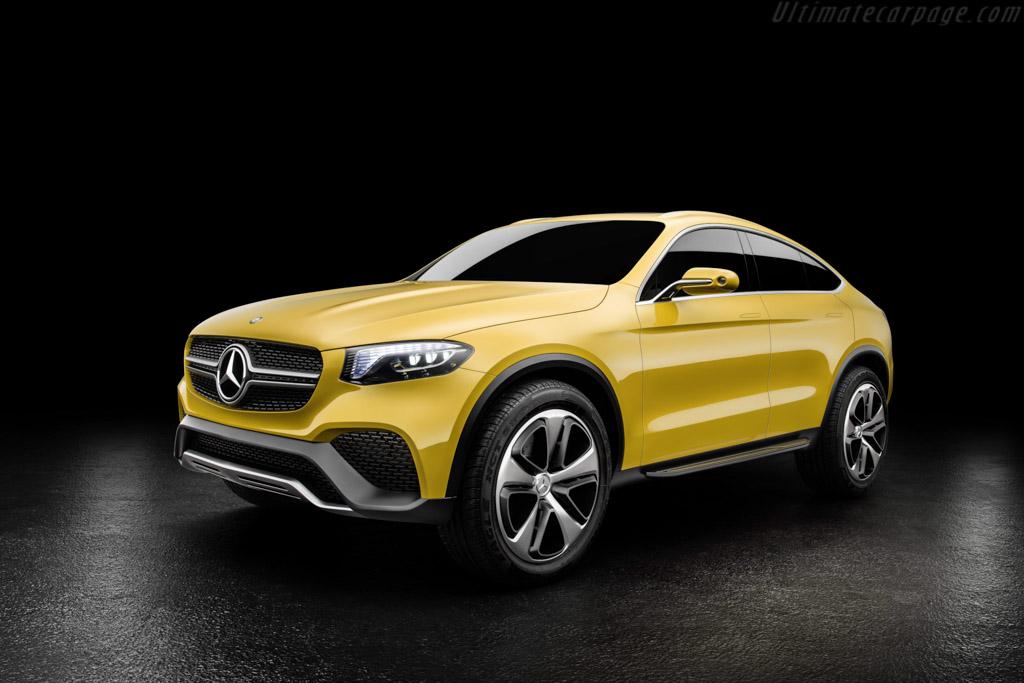Mercedes Benz Concept GLC Coup