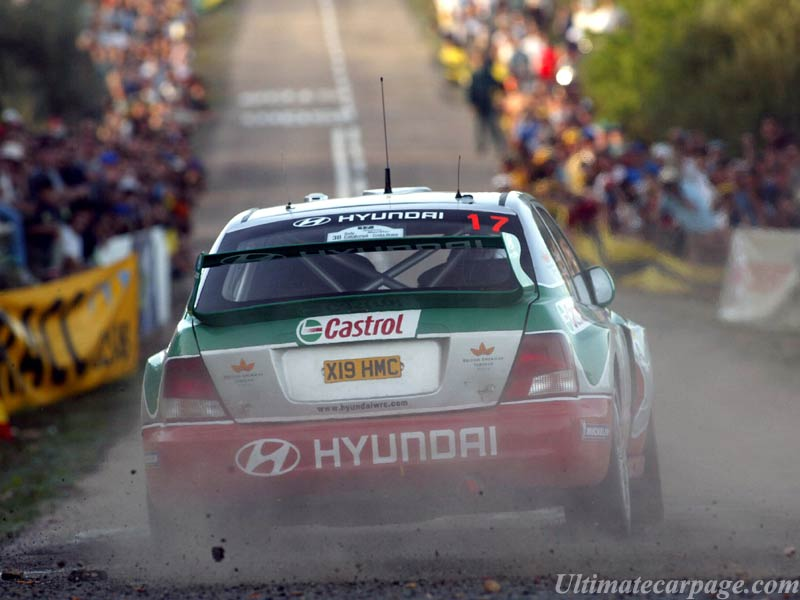 Hyundai Accent WRC 3 High Resolution Image 12 Of 12