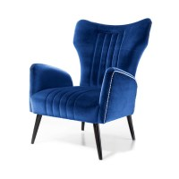 Blue Wing Chair ATE - from Ultimate Contract UK
