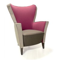 Tulip High Back Lounge Chair IND - from Ultimate Contract UK