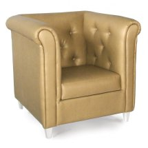 Viva Leather Lounge Chair - Ultimate Contract Uk