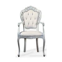 White and Silver Classic Chair 0209A - from Ultimate ...
