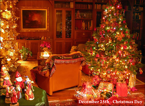 Photo For Christmas Day 2017 Grasscloth Wallpaper