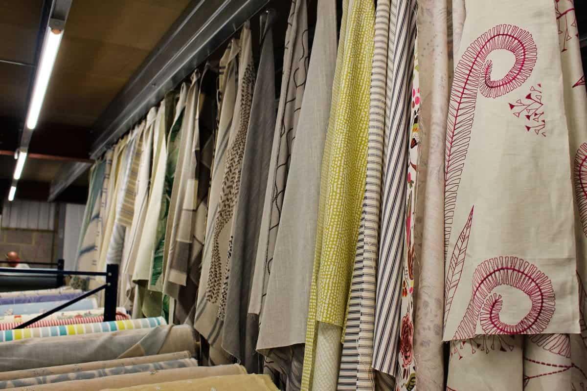 bargain designer curtain fabric