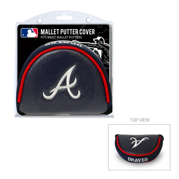 Atlanta Braves Mallet Putter Cover