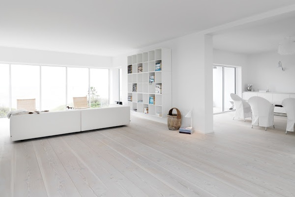 Scandinavian white wood finish  How to get the look