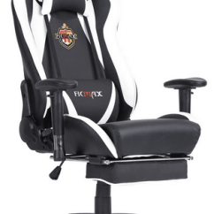 Ergonomic Chair With Leg Rest Fan Back Wicker Best Pc Gaming Reviews Guide Ficmax