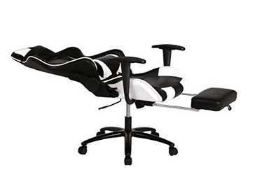 ergonomic chair with leg rest covers brisbane best pc gaming reviews guide office high back recliner computer
