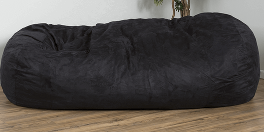 what size bean bag chair do i need pad for bed sores 15 best chairs adults ultimate guide david faux suede 8 feet lounger