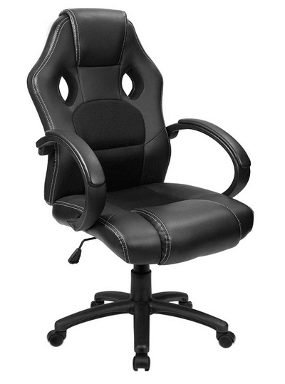 unique leather office chairs dog proof chair covers furmax executive racing review by gaming expert