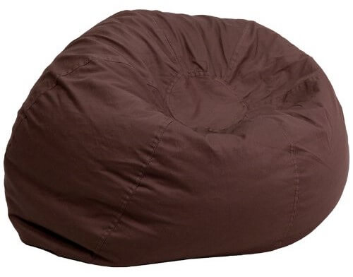 best bean bag chairs for gaming chair covers rental in brooklyn 15 adults ultimate guide oversized solid brown